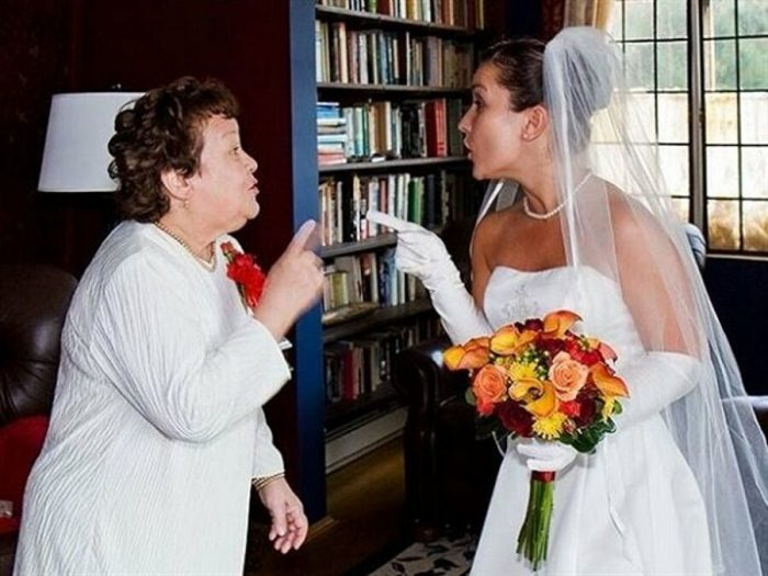 عروس و مادرشوهر